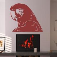Parrot Bird Animal Wall Decals Wall Art Stickers Transfers ...