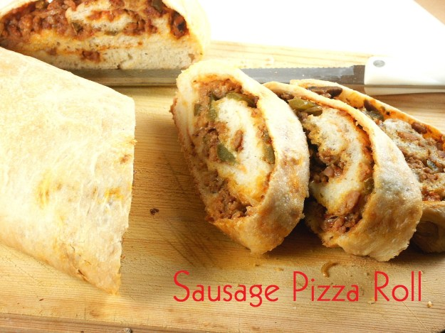 Sausage Pizza Roll I Cook And Paint