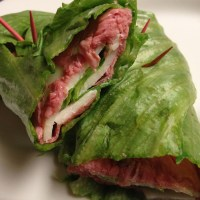 Roast Beef Lettuce Rolls-- South Beach Phase 1 Lunch