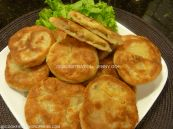 Chinese pan fried pancakes