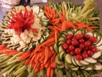 Vegetable Tray for a Party, No. 2 | icookforleftovers