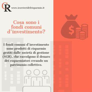 Fondi Comuni – Cosa sono