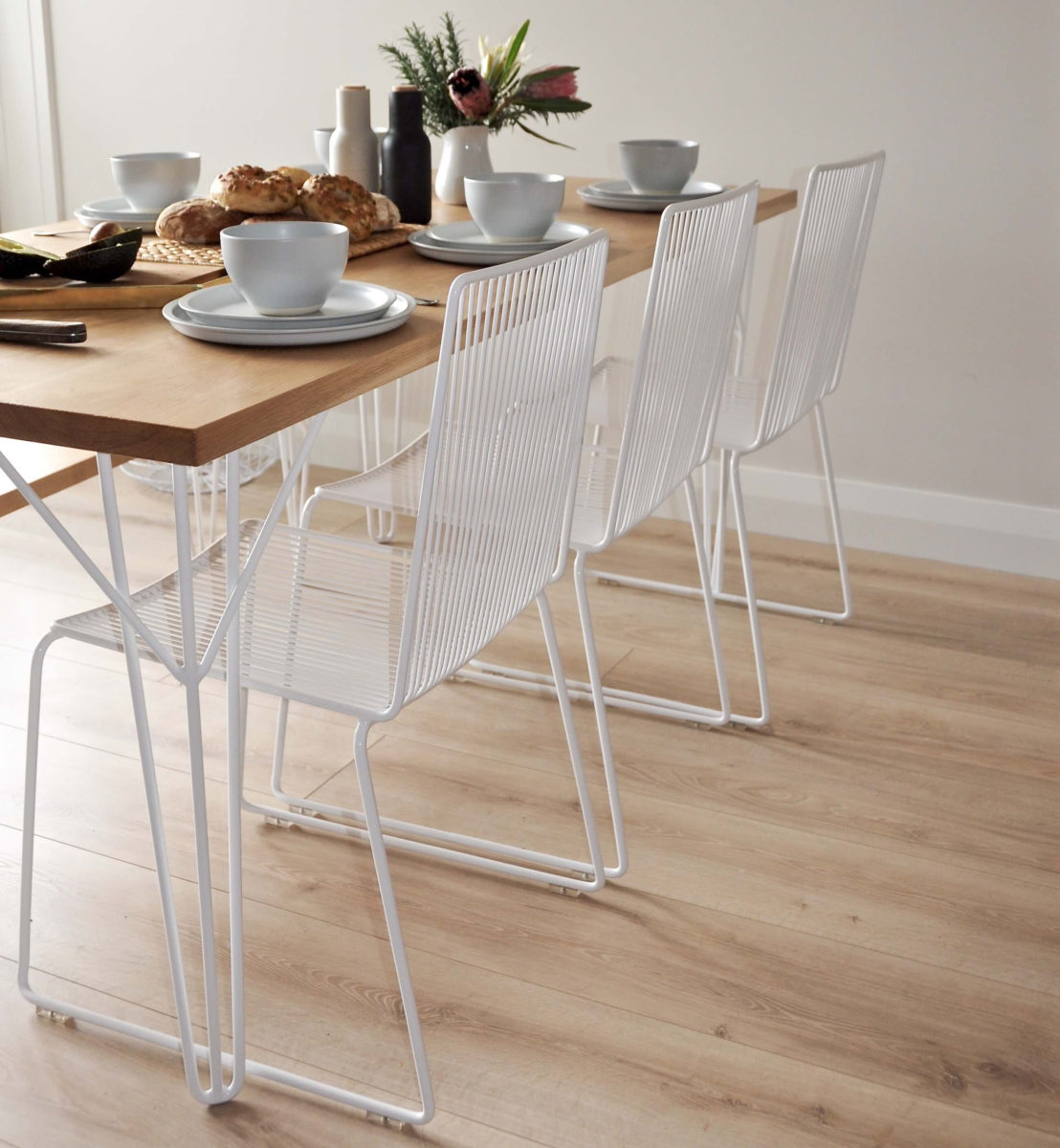 White Dining Chairs Devonport Chair