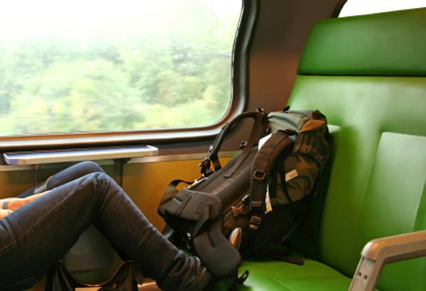 Travelling backpacker