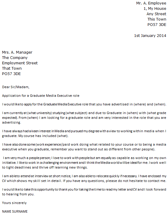 cover letter graduate assistantship