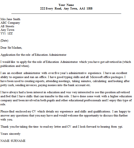 Property Management Administrator Cover Letter Best Cover Letter I Ve Ever  Read
