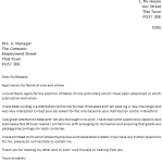 Morrisons Cover Letter Example