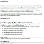 Bus Driver CV Example