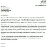 Service Desk Analyst Cover Letter Example
