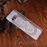 Palm Shape Flower Transparent Samsung Galaxy S8 Case 2