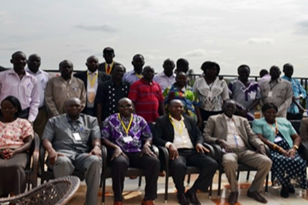 Participants at the National SMPs Roll-out workshop for South Sudan held at James Hotel, Juba, 1-3 June 2015