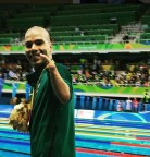 the Brazilian Paralympic swimmer Daniel de Faria Dias (born 24 May 1988)