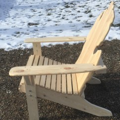 Michigan Adirondack Chair Nicole Miller The Contour Ii White Pine By Picwood Usa Zoom More Images