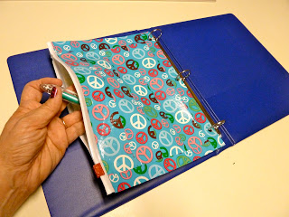 Duct Tape Binder Pencil Pouch