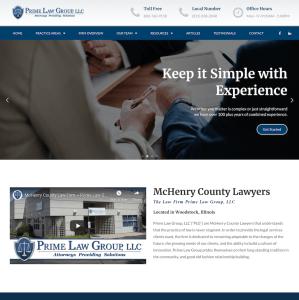 lawyer website design