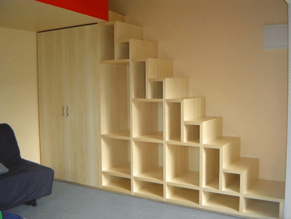 Space Saving Staircase Designs Icreatived | Space Saver Staircase Plans | Stair Case | Storage | Spiral Staircases | Landing | Staircase Ideas