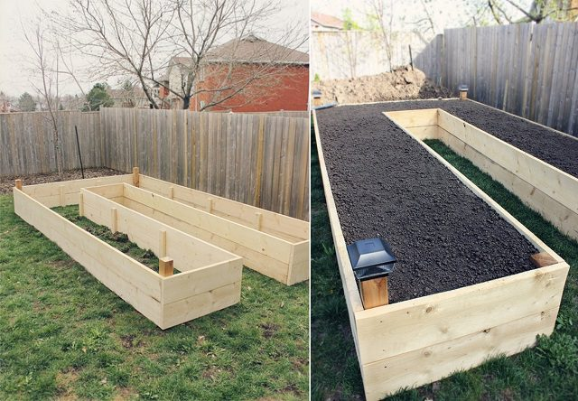 U Shaped Raised Garden Plans