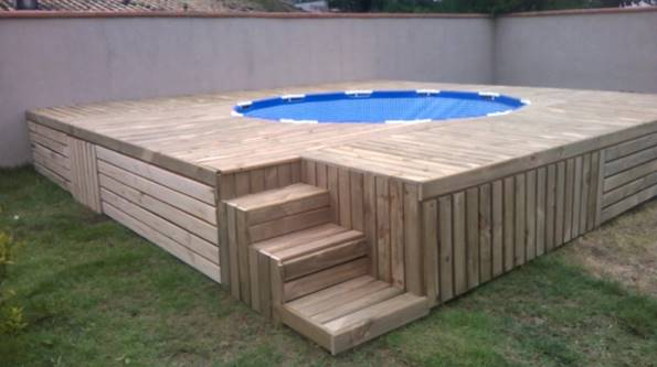 Diy Deck Drawer Creative Ideas - Diy Above Ground Swimming Pool With