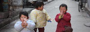 Street children in Chengdu
