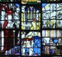 Vitrail de la Résurrection - Apparition de Notre-Seigneur à Marie