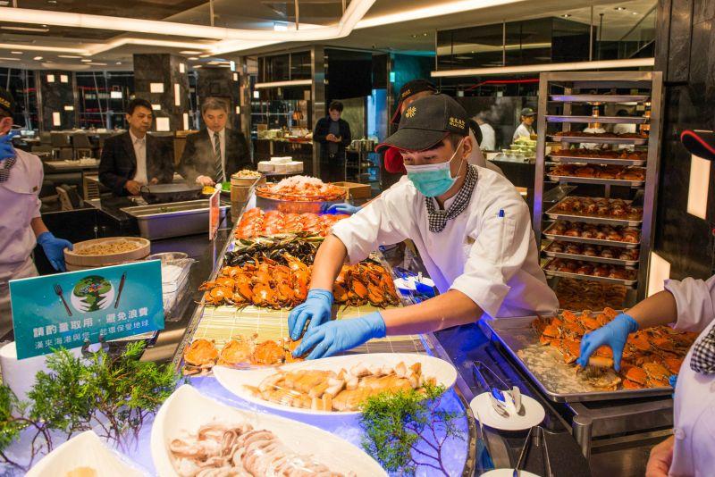 Buffet南霸天漢來海港天母店開幕 跨越國界的美食吃到飽-欣臺灣-欣傳媒旅遊頻道