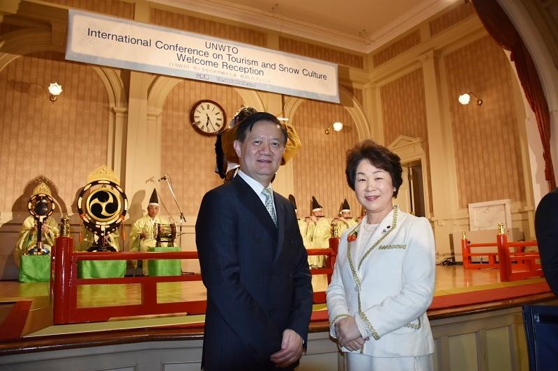 日本在線/UNWTO雪的文化世界觀光會議 呼籲珍惜滑雪資源‧山形縣展現旅遊魅力-旅@天下-欣傳媒旅遊頻道
