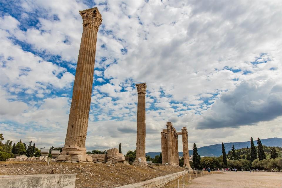 [遊記] 宙斯神殿介紹 。雅典必來景點古跡參觀 路線 & 交通 分享-我是賀禎禎-欣傳媒旅遊頻道