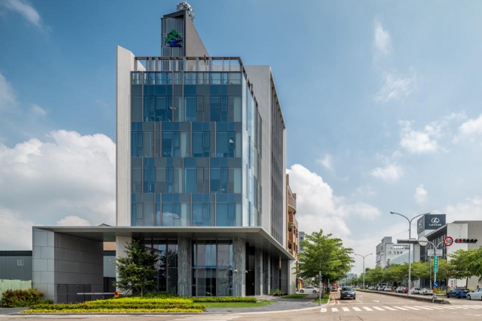 國棟建築師事務所作品「萬年清企業總部」-欣建築-欣傳媒建築設計頻道