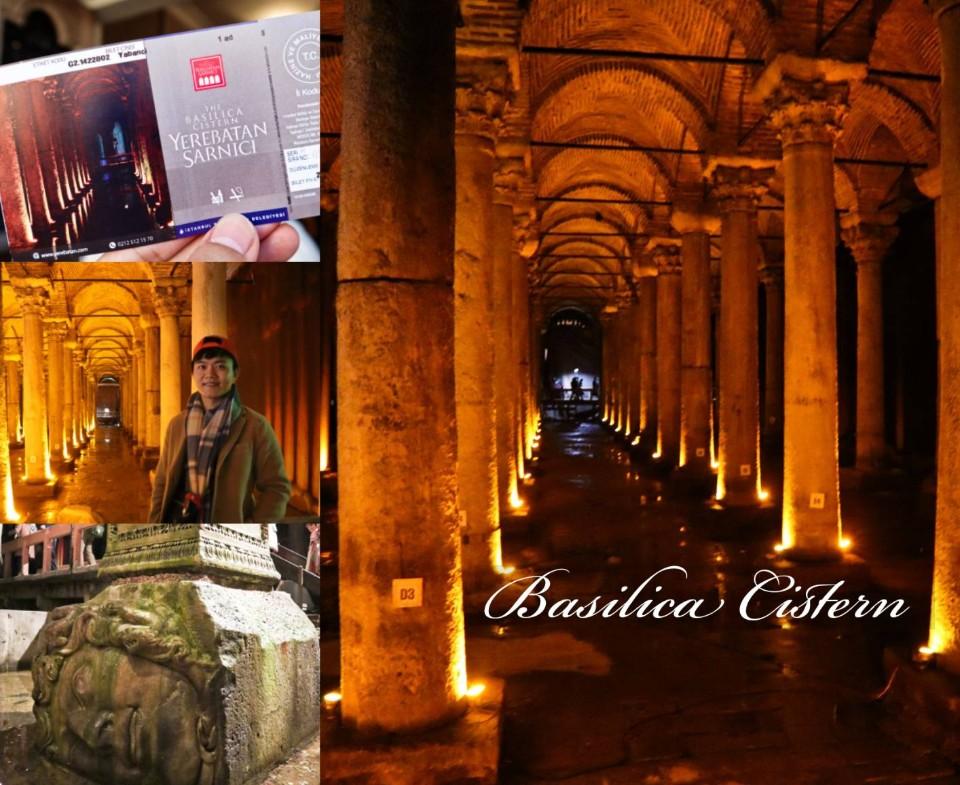 土耳其地下水宮殿》蛇妖美杜莎驚藏池水石柱地下,幽幽地下神偉建築是值得一看得熱門景點-尼克玩食大探險 ...
