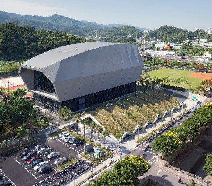 Q-LAB 曾柏庭-中和國民運動中心-欣建築-欣傳媒建築設計頻道