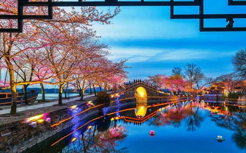 太湖邊的國際賞櫻勝地 黿頭渚公園-欣中國-欣傳媒旅遊頻道