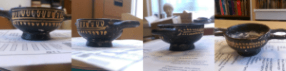 Four shots of the kylix