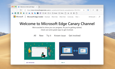 Canary and Dev builds of Microsoft Edge Browser for Mac are now available Online