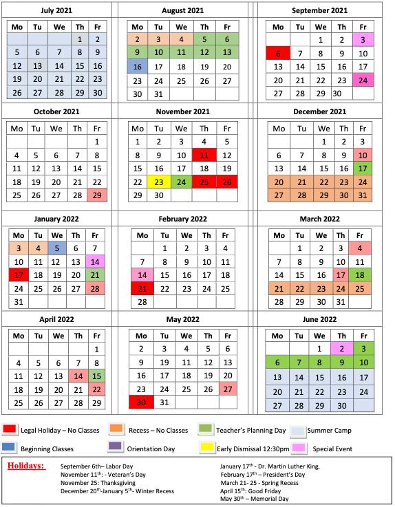 ICS School Year 2021-2022
