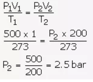 Study of Gas Laws Chapter-7 Selina Chemistry Solutions