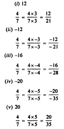 Rational Numbers ICSE Class-7th Concise Selina Maths