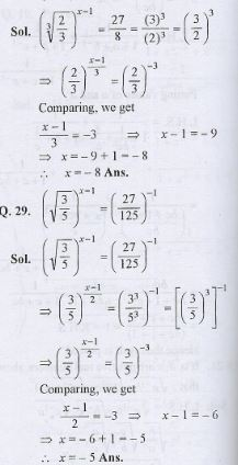 Indices Class-9th ICSE RS Aggarwal Maths Goyal Brothers