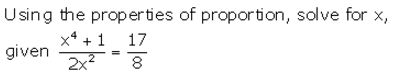 Selina Concise Mathematics Class 10 ICSE Solutions Ratio and Proportion (Including Properties and Uses) - 98