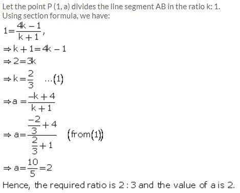 Selina Concise Mathematics Class 10 ICSE Solutions Section and Mid-Point Formula - 5