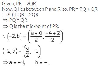 Selina Concise Mathematics Class 10 ICSE Solutions Section and Mid-Point Formula - 54