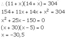 Selina Concise Mathematics Class 10 ICSE Solutions Solving Simple Problems (Based on Quadratic Equations) - 32