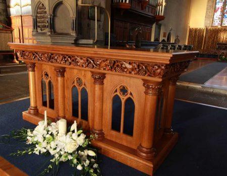 Church Altar Furniture  ICS Church Furnishers