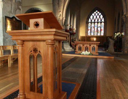 Altar Furniture  ICS Church Furnishers