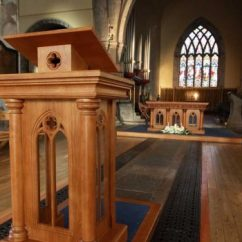 Wooden Church Choir Chairs Pressed Back Chair Designs Altar Furniture | Ics Furnishers
