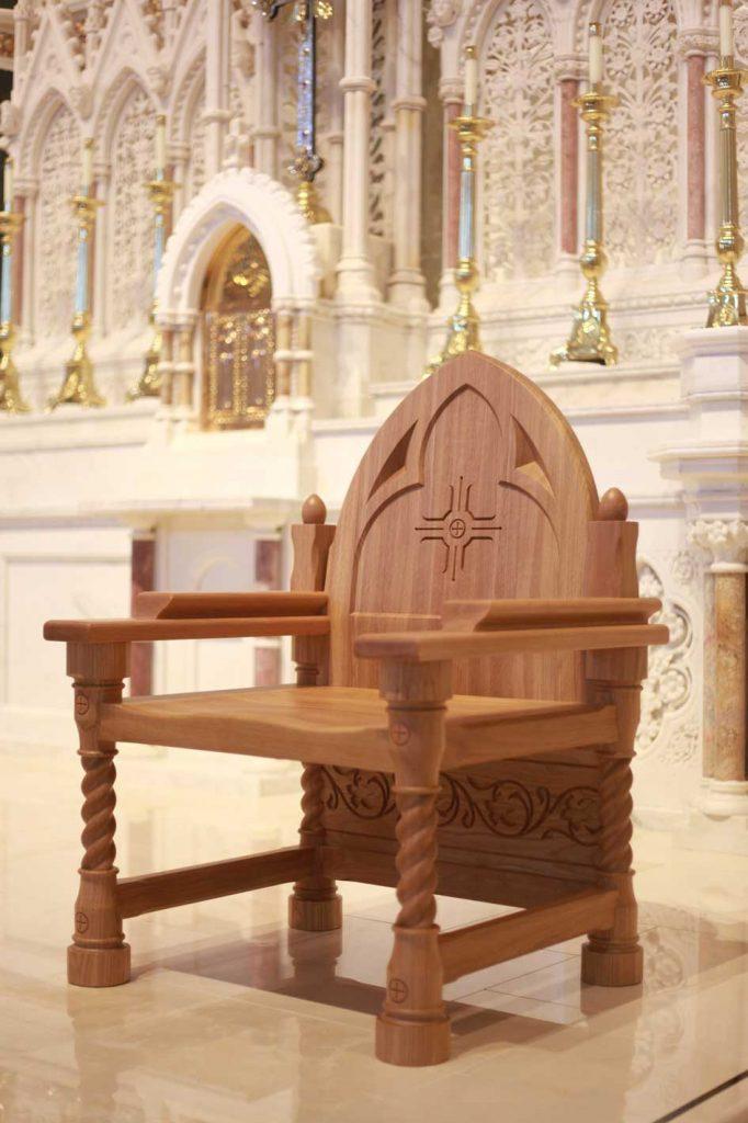 Presiders Chairs  ICS Church Furnishers
