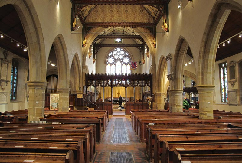 Holy Trinity Church Cuckfield UK  ICS Church Furnishers