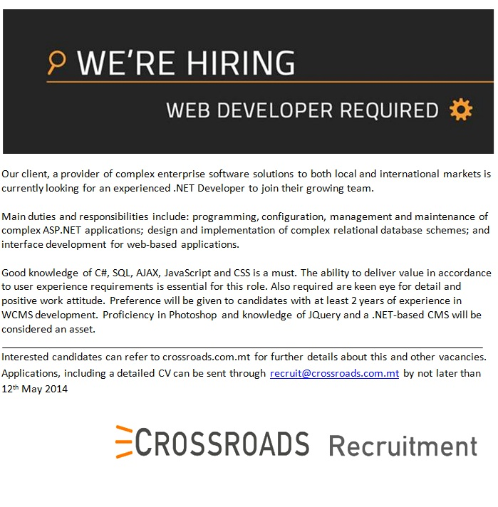 NET Developer