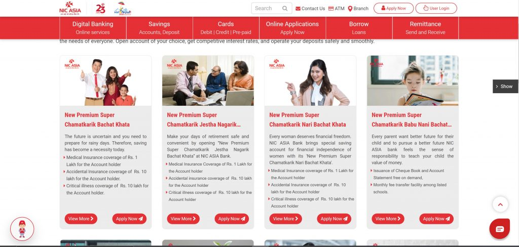 Nic Asia Bank Starts Digital Account Opening How To Open A Bank Account Ict Byte