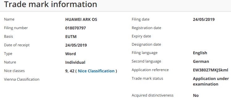Huawei Confirms The Name Of Its New OS