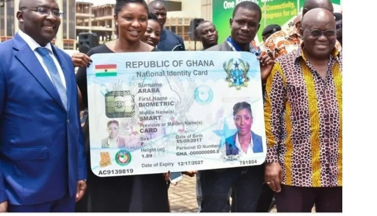 NATIONAL IDENTITY CARD (Ghana Card) APPLICATION FORM